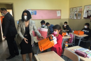 Ortamandıra Şehit Gürel Alagöz İlk Okulu Öğrencilerine 23 Nisan Çocuk Bayramı Hediyelerini Dağıttık